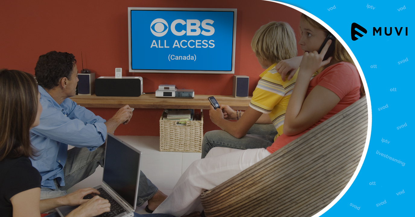 CBS All Access available on Android TV in Canada