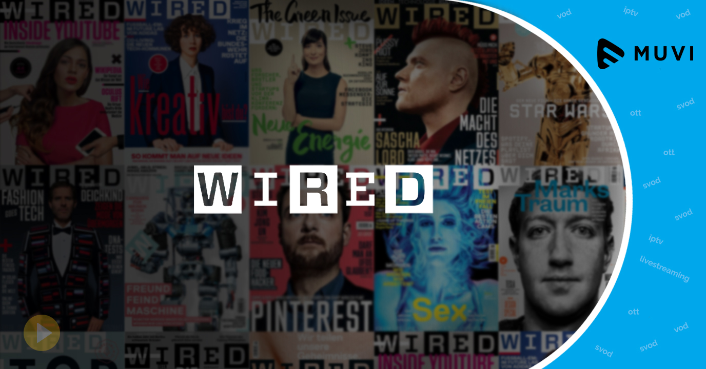 Wired Magazine steps into the OTT market with new online streaming TV channel