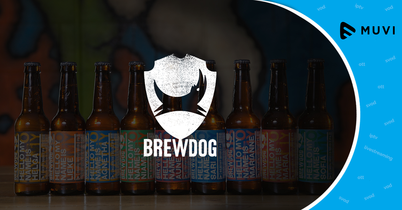 Indie brewery BrewDog introduces new SVOD service