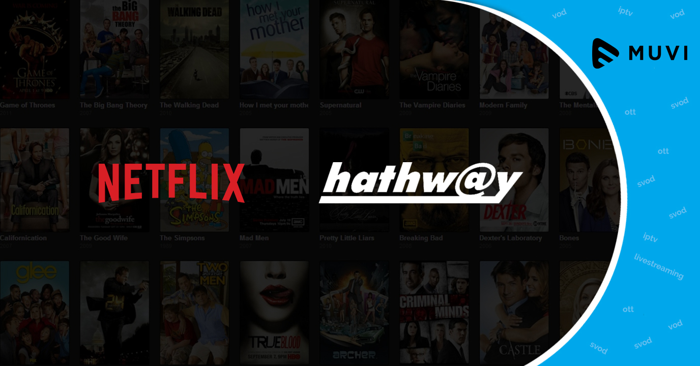 Netflix and Hathway Broadway aim to deliver video streaming services