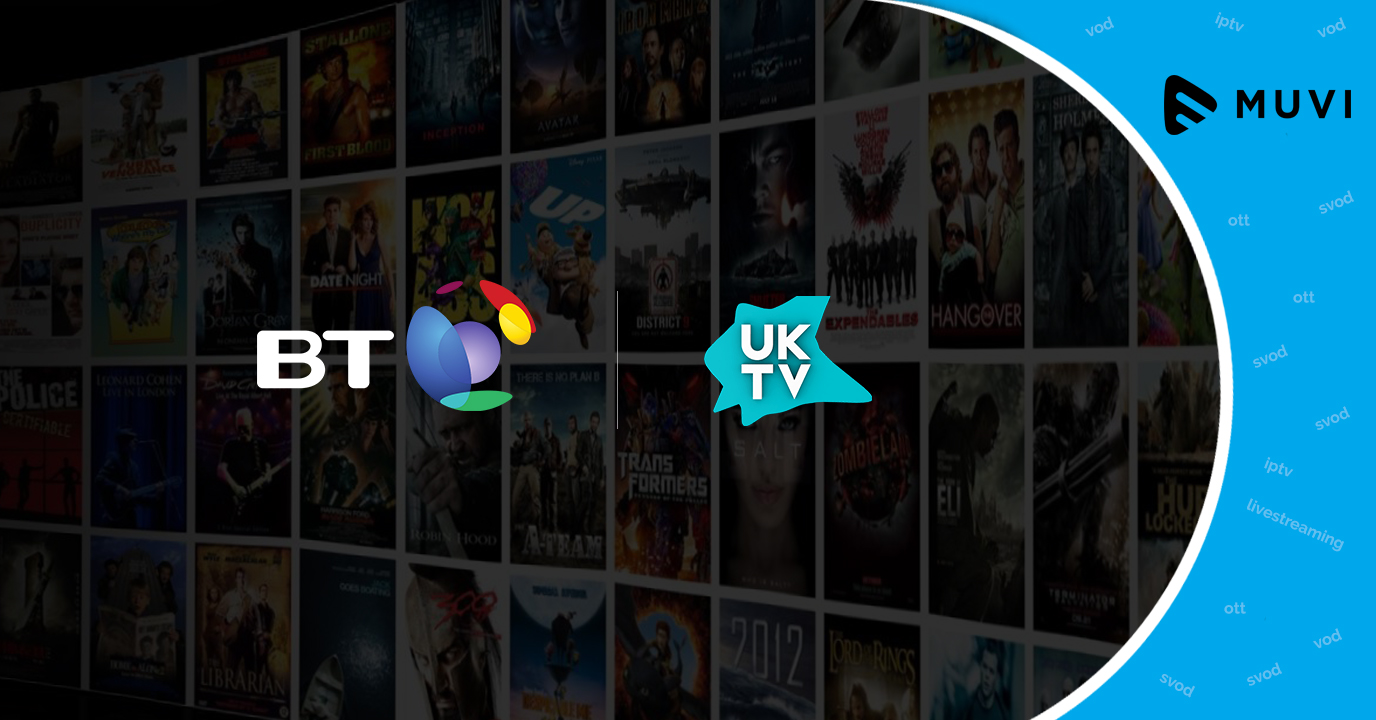 BT extends partnership with UKTV for enhanced selection of VOD shows
