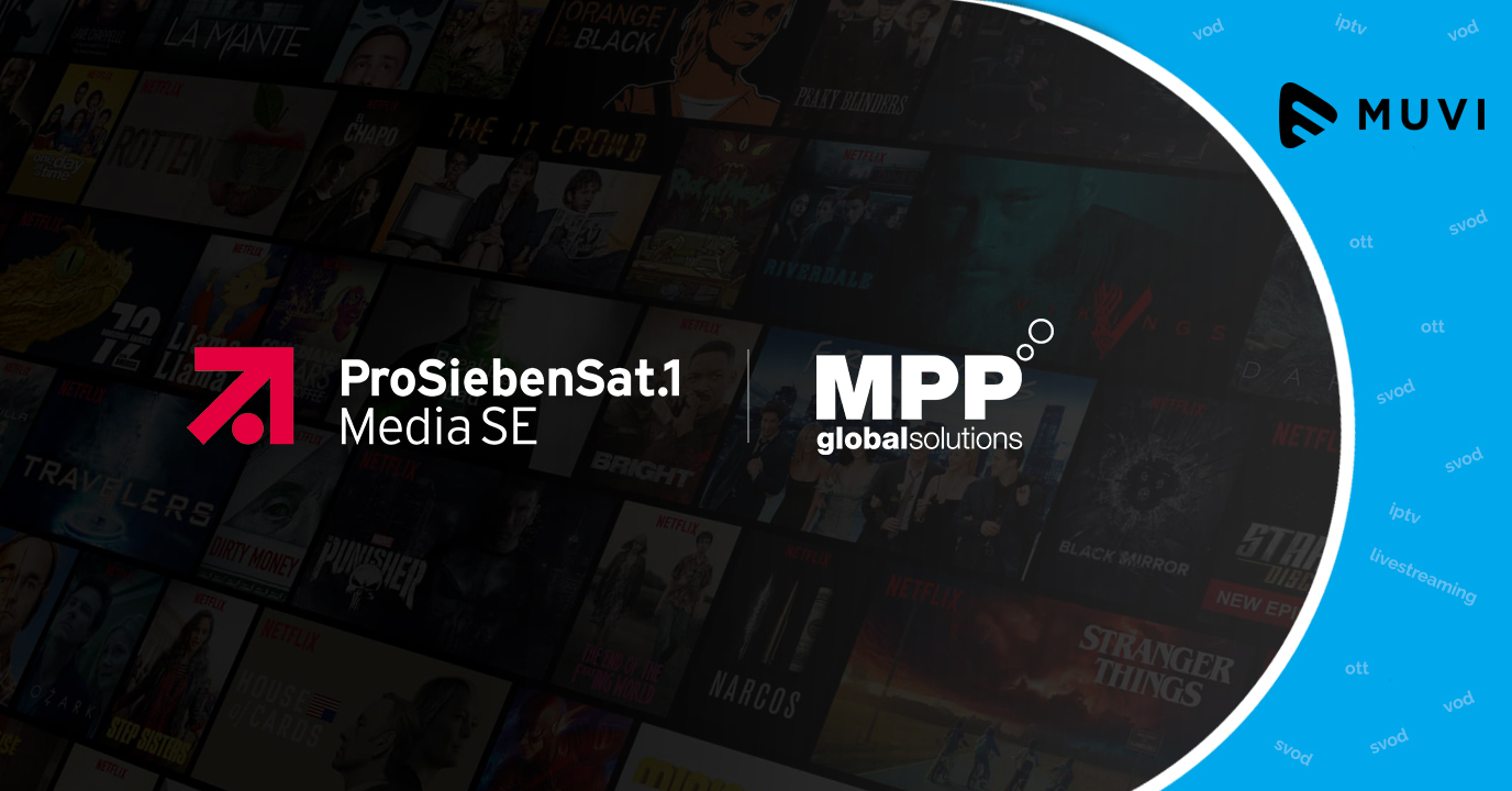 ProSiebenSat.1 choose MPP Global to drive OTT platform sales
