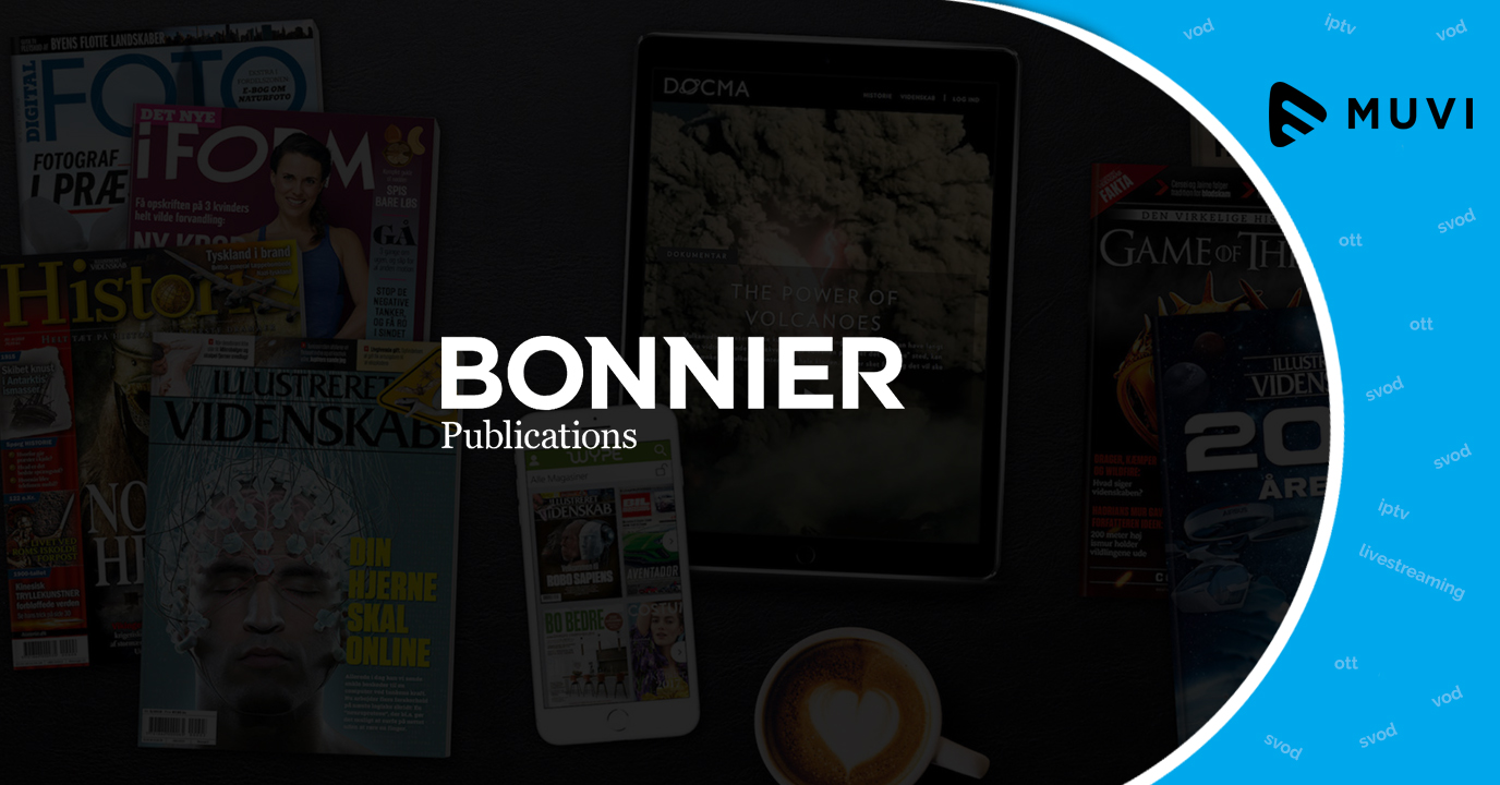 Bonnier Broadcasting partners with Paywizard to boost OTT TV subs growth