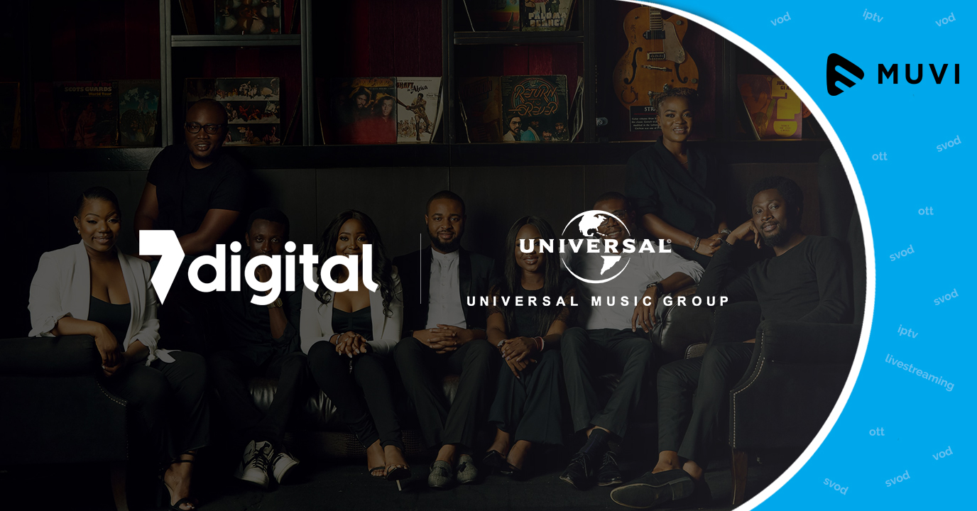 Universal Music Group sign deal with 7Digital to boost streaming revenues