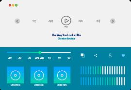 Audio encoding on Muvi