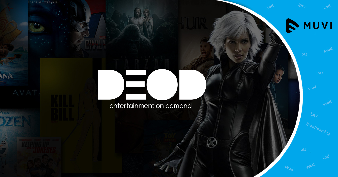 Telone launches VOD service DEOD