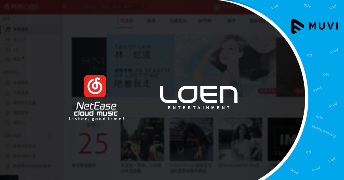Chinese music streaming platform NetEase Cloud Music partners with Loen Entertainment
