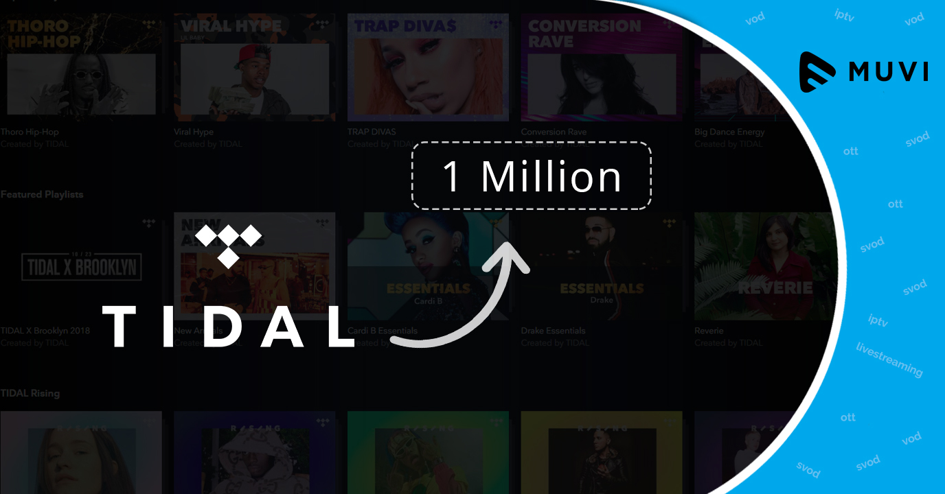 Music streaming platform Tidal's MQA music library touches 1 million mark