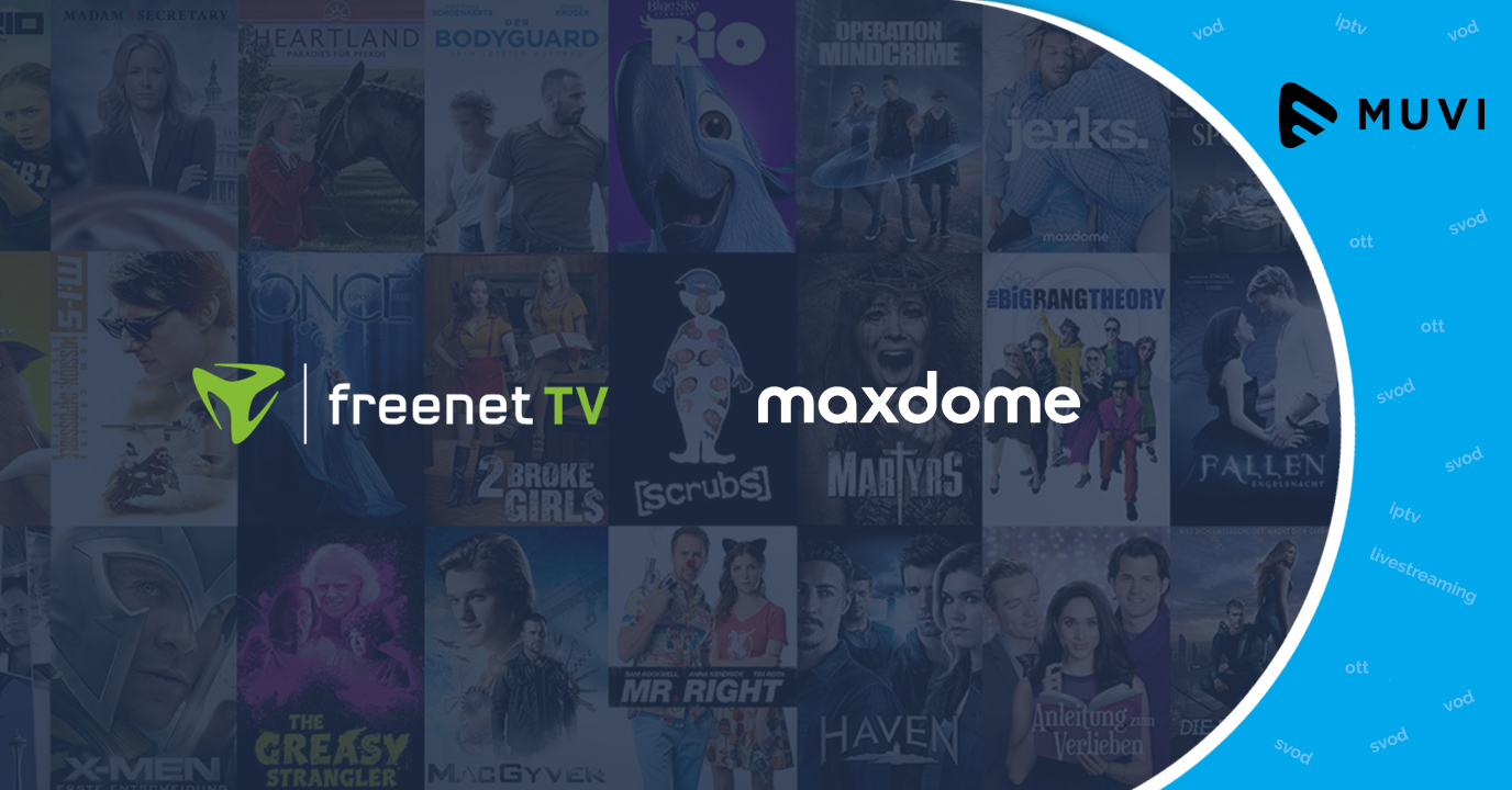 Freenet TV joins forces with VoD service Maxdome