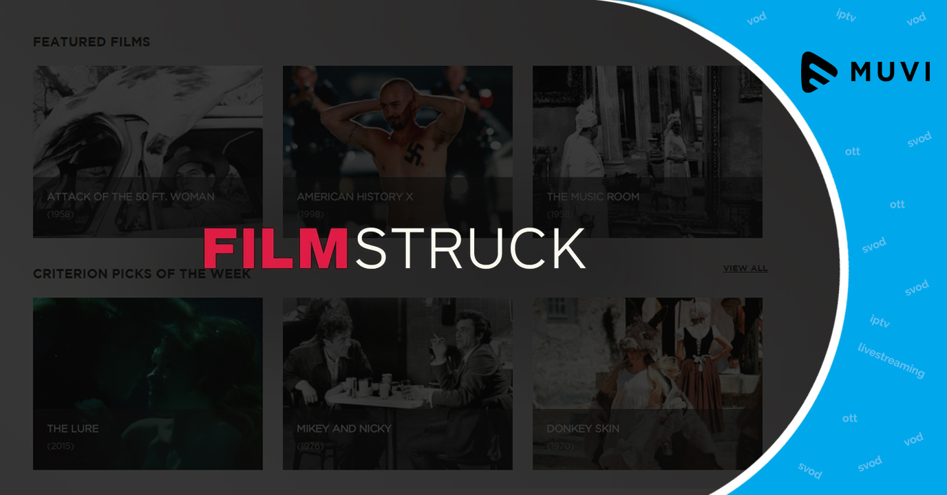 WarnerMedia to close OTT service FilmStruck