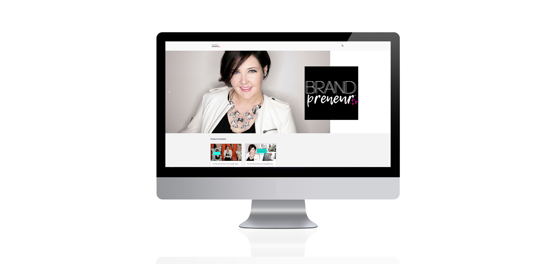 Brandpreneurtv  Website