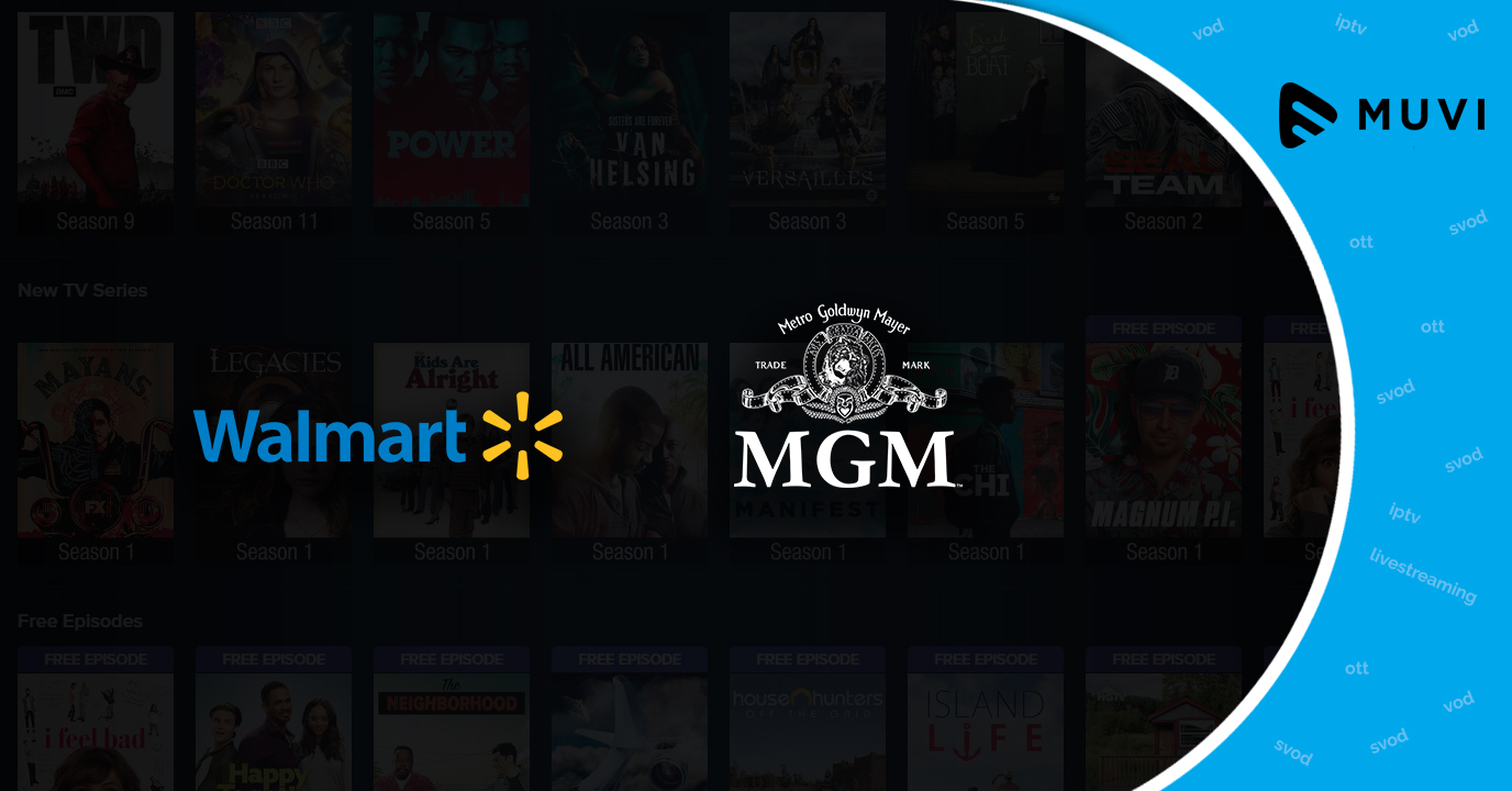 Walmart aims to boost its video-on-demand service Vudu