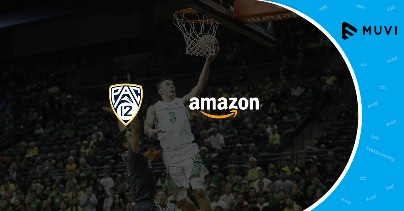 Pac-12 partners with Amazon for new OTT service