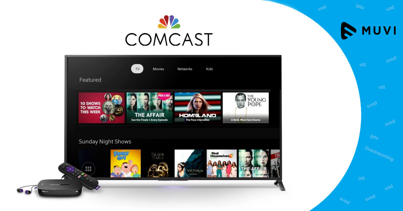 Comcast plans to roll out new video streaming platform for broadband-only customers