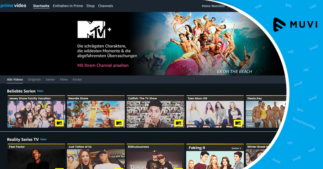 MTV+ enters Germany & Austrian OTT market through Prime Video