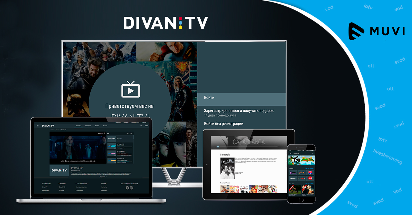 OTT service Divan.TV debuts on Fire TV, Roku