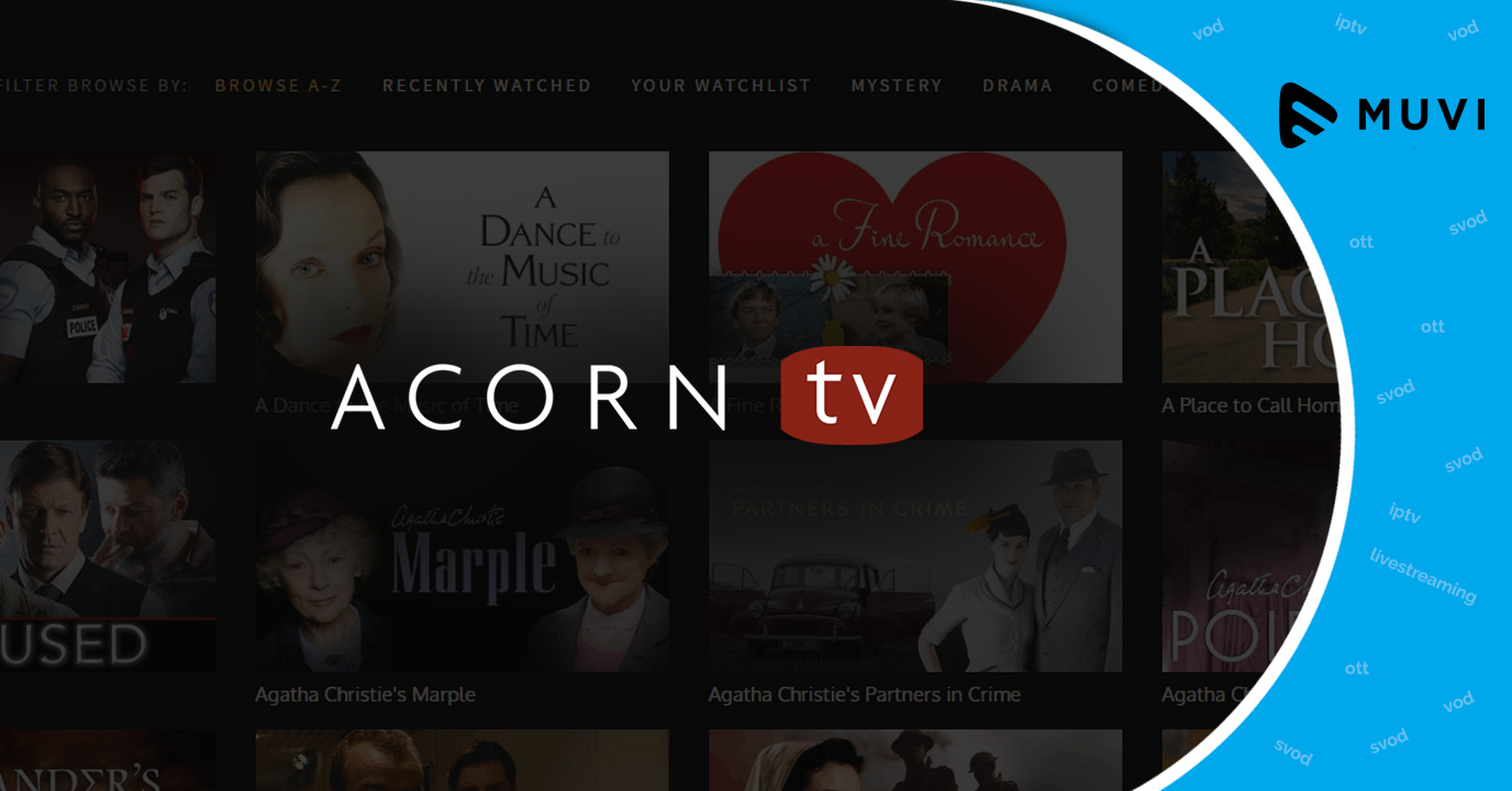 Acorn TV debuts in South Africa
