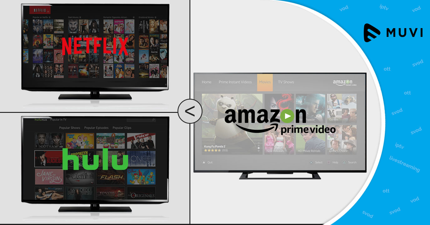 Prime Video's content library is bigger than Netflix & Hulu's combined
