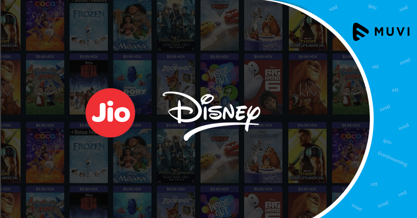 VoD Platform Jio Cinema inks Deal with Disney India