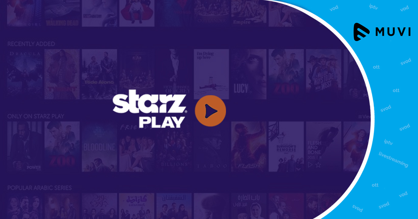 MENA to have more On-Demand Entertainment through Starz Play