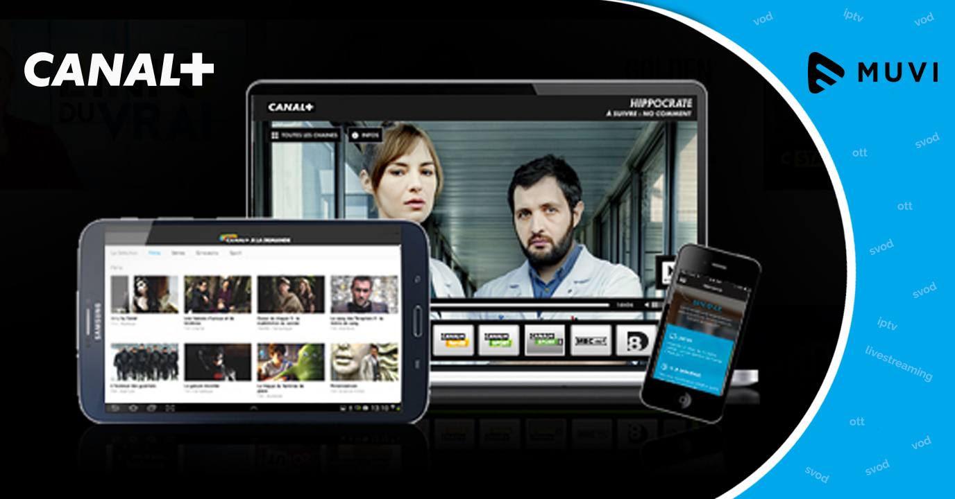 Canal+ to relaunch their SVOD Service CanalPlay