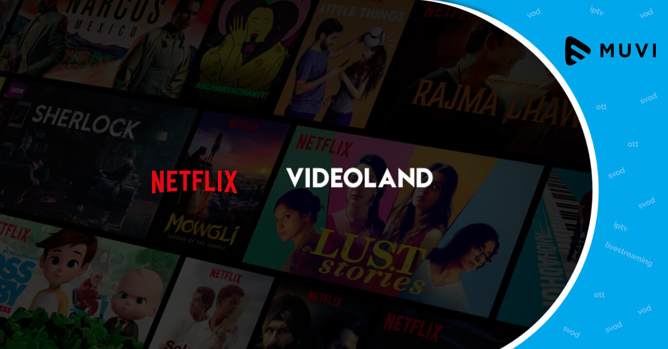 Netflix & Videoland are dominating Netherlands' SVoD Industry