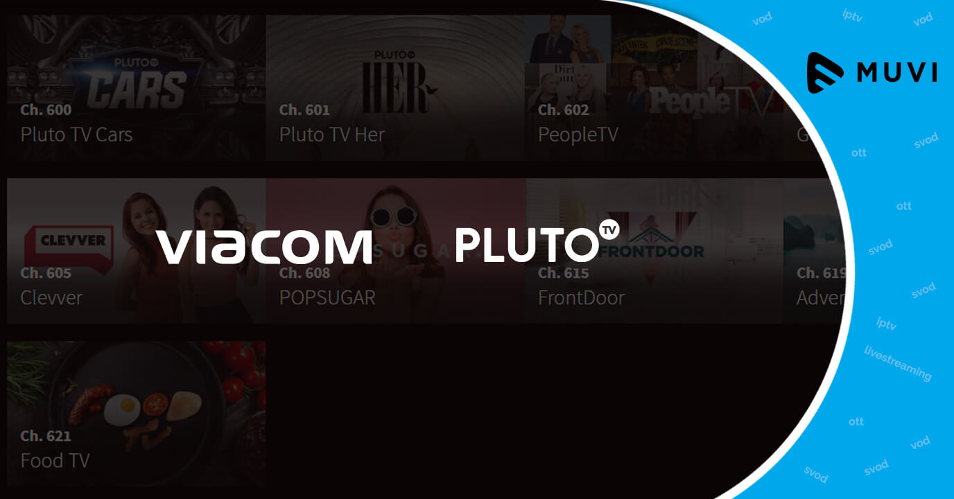 Viacom procures Free VoD Service Pluto TV for $340 Million