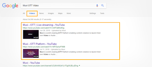 ranking your videos on Google