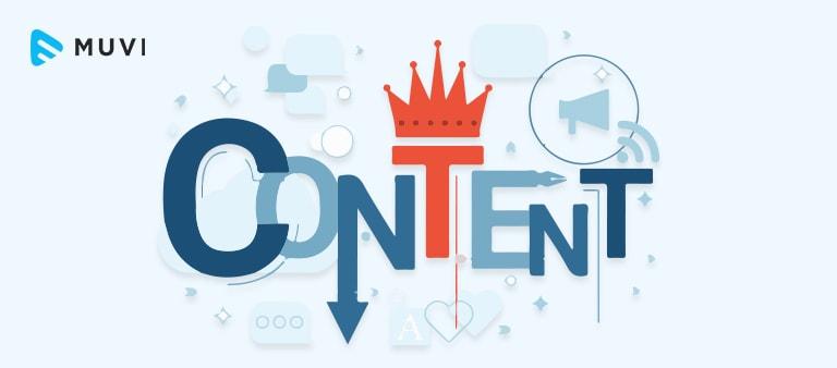 content management in OTT Platform