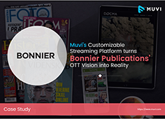 Bonnier Case Study | Muvi's Customizable Streaming Platform turns Bonnier Publications' OTT Vision into Reality