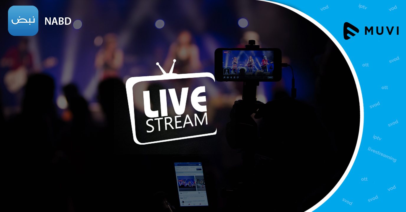 Nabd steps into Live Streaming Industry