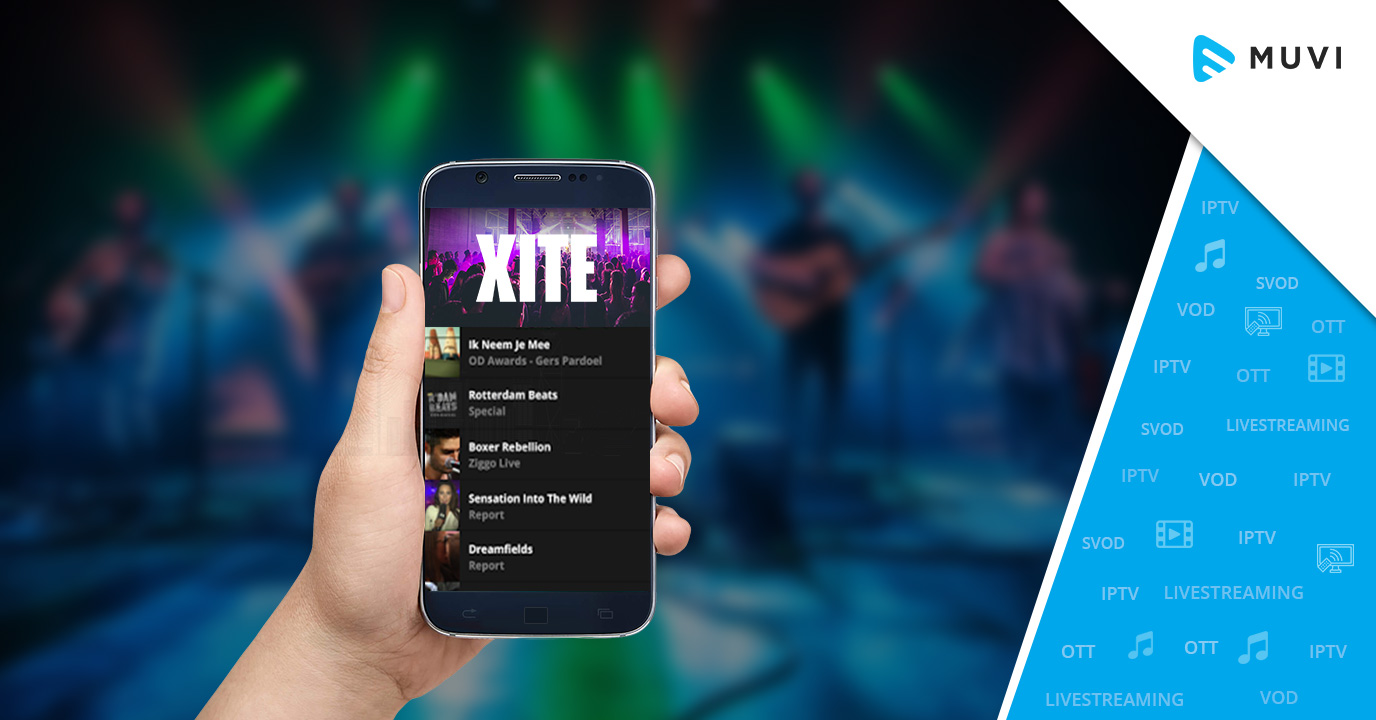 XITE Launches its Ultimate Music Video Streaming App in the US - Muvi