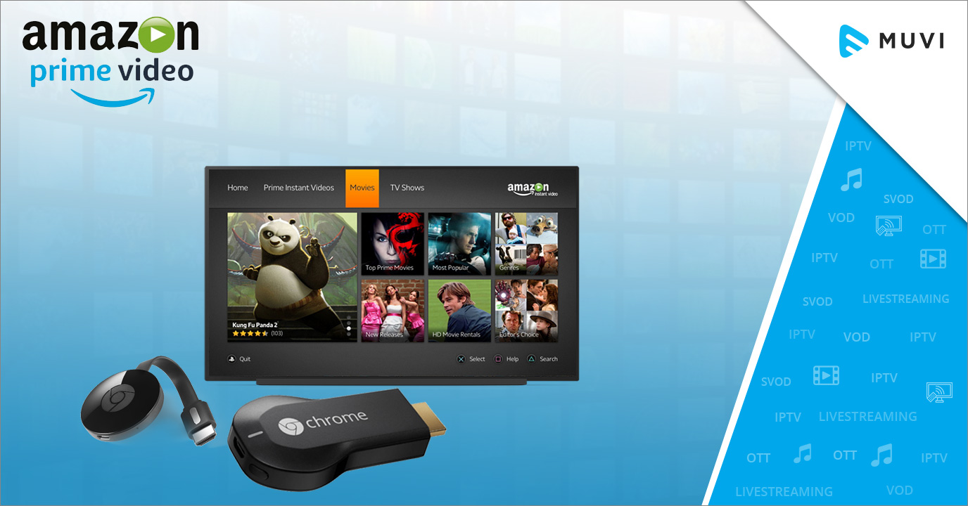 Amazon Prime Video on Chromecast & Android TV Soon - Muvi