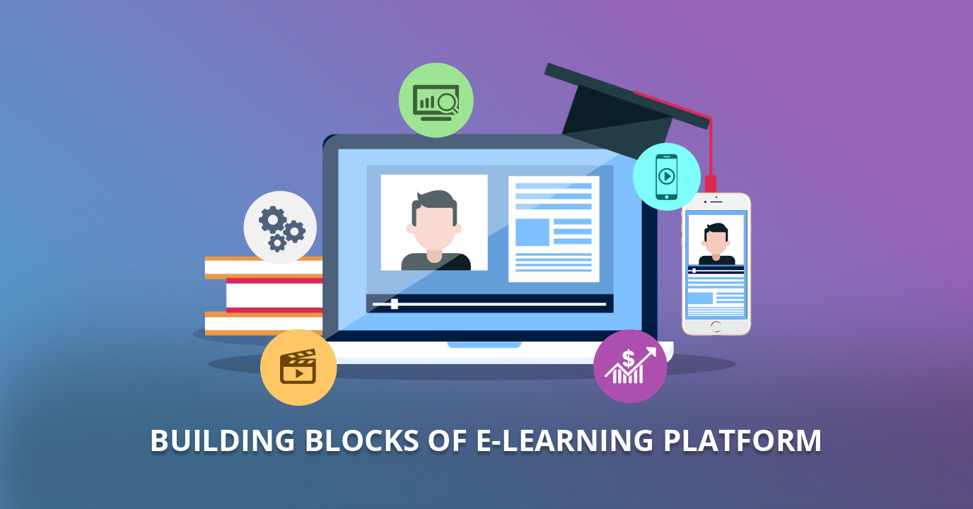 5 building blocks without which you cannot develop an e-Learning Platform