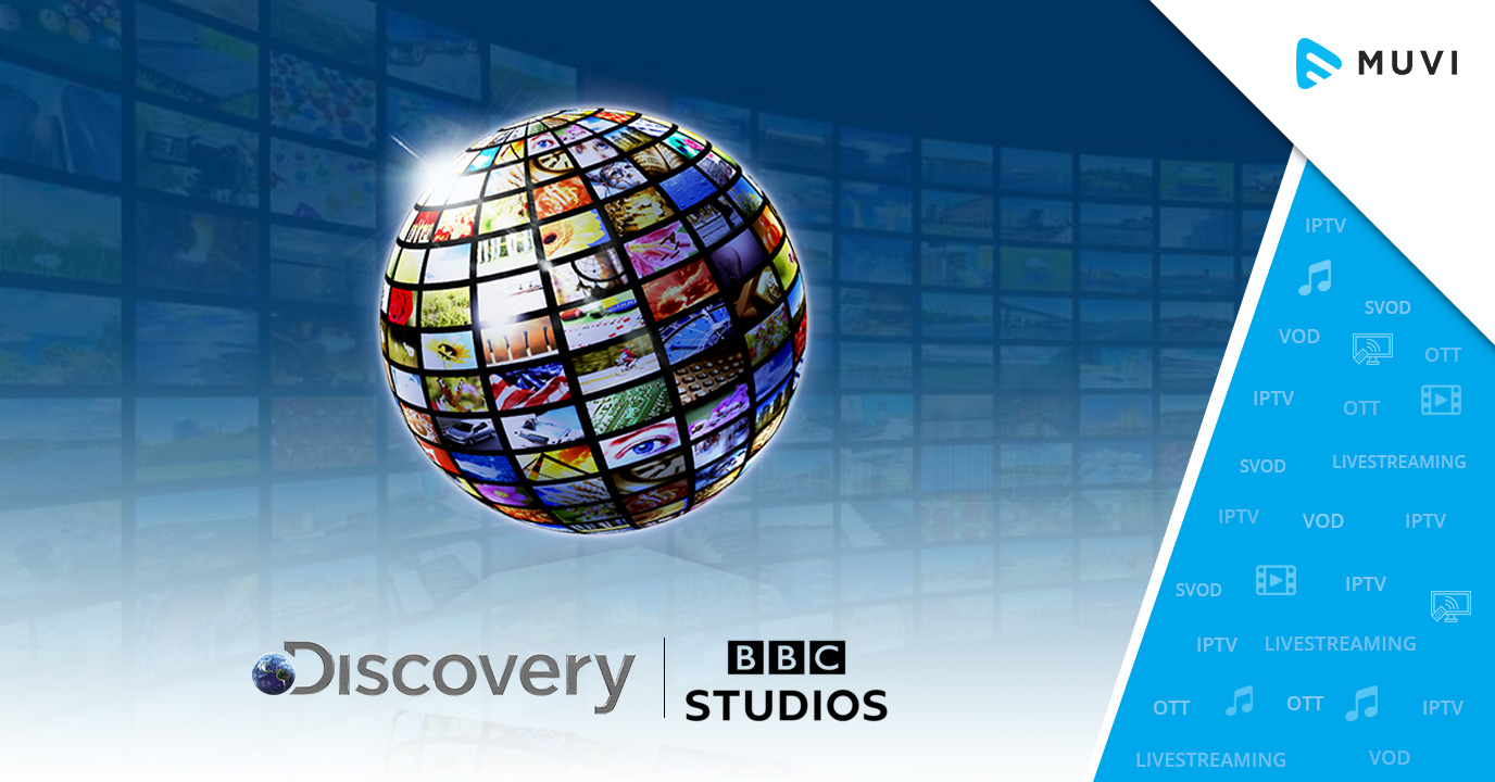Discovery Partners with BBC to launch a Global Video Streaming Service