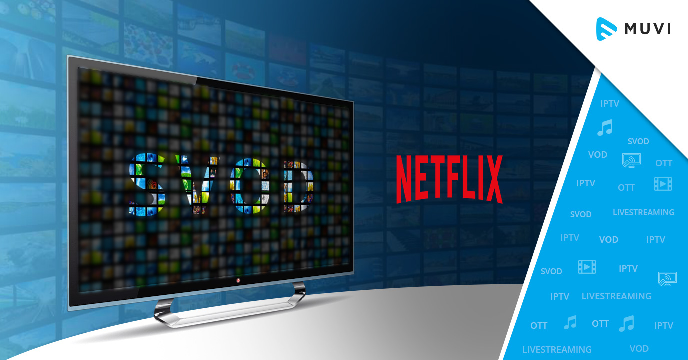 Netflix Accounts for 71% of the Global SVoD market, Research Says