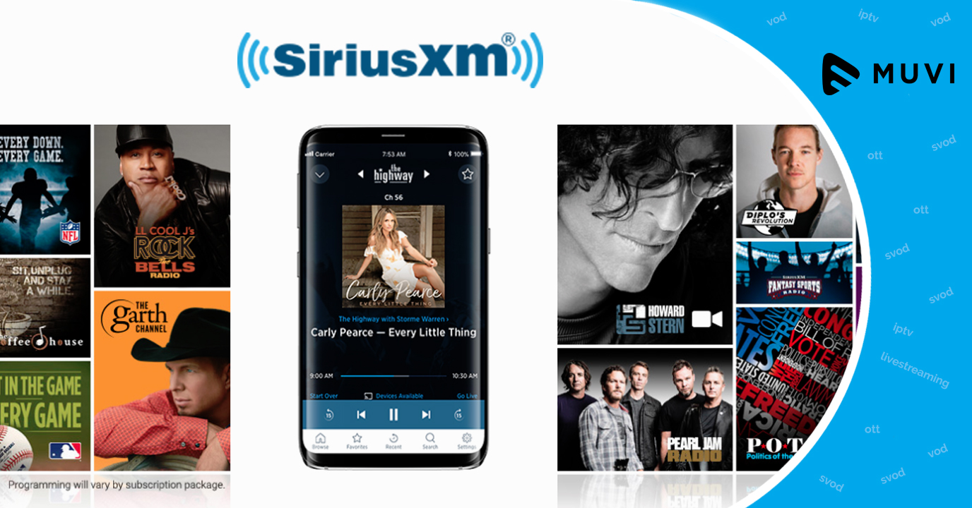 SiriusXM Introduces a New Streaming Only Plan for Online Radio Streamers
