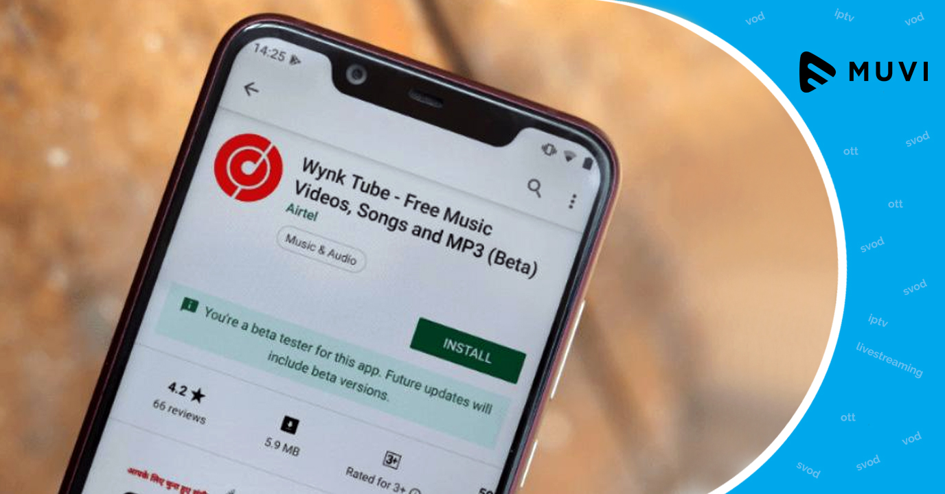Airtel Launches Music & Video Streaming App - Wynk Tube