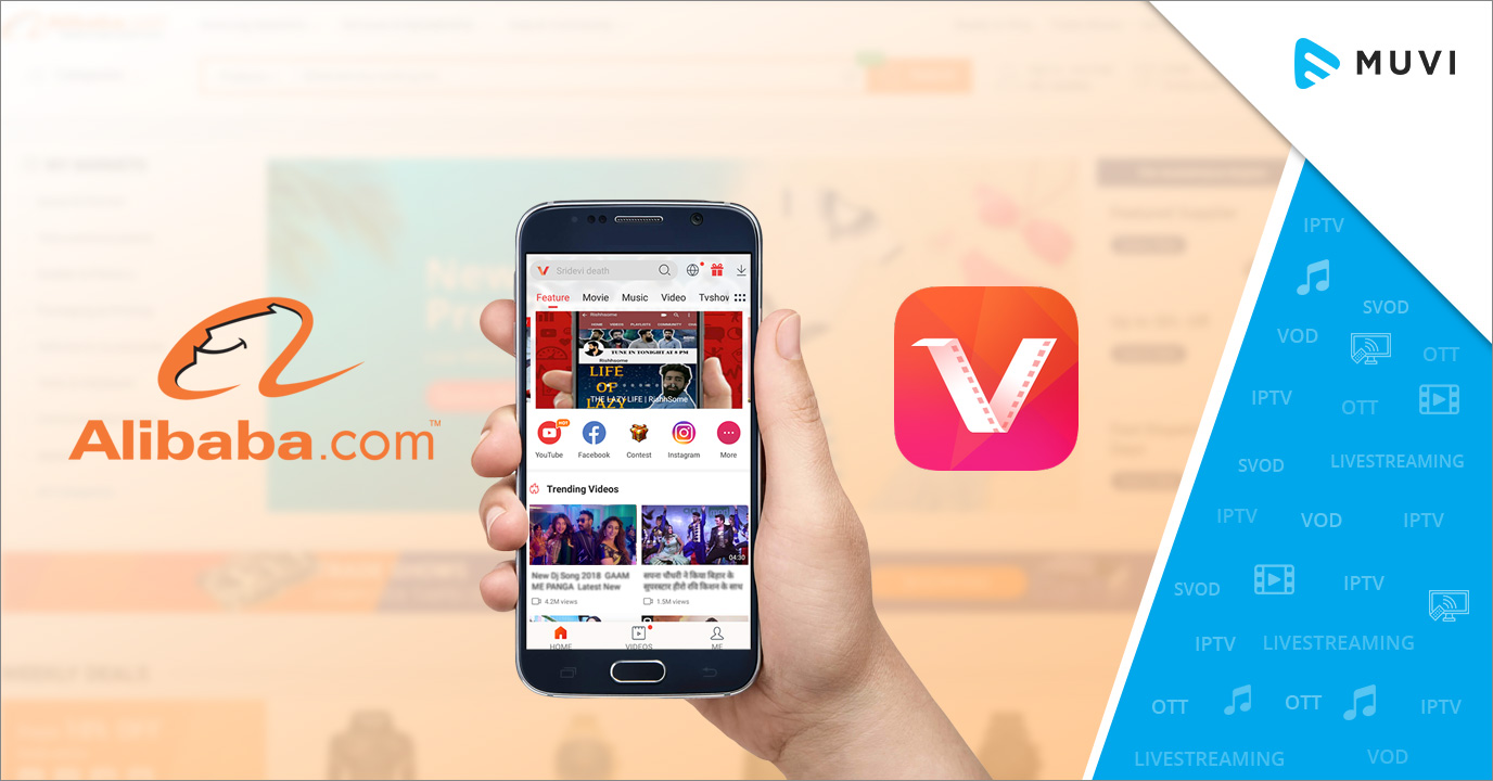 Alibaba Invests $100 Mn into its Video App - VMate