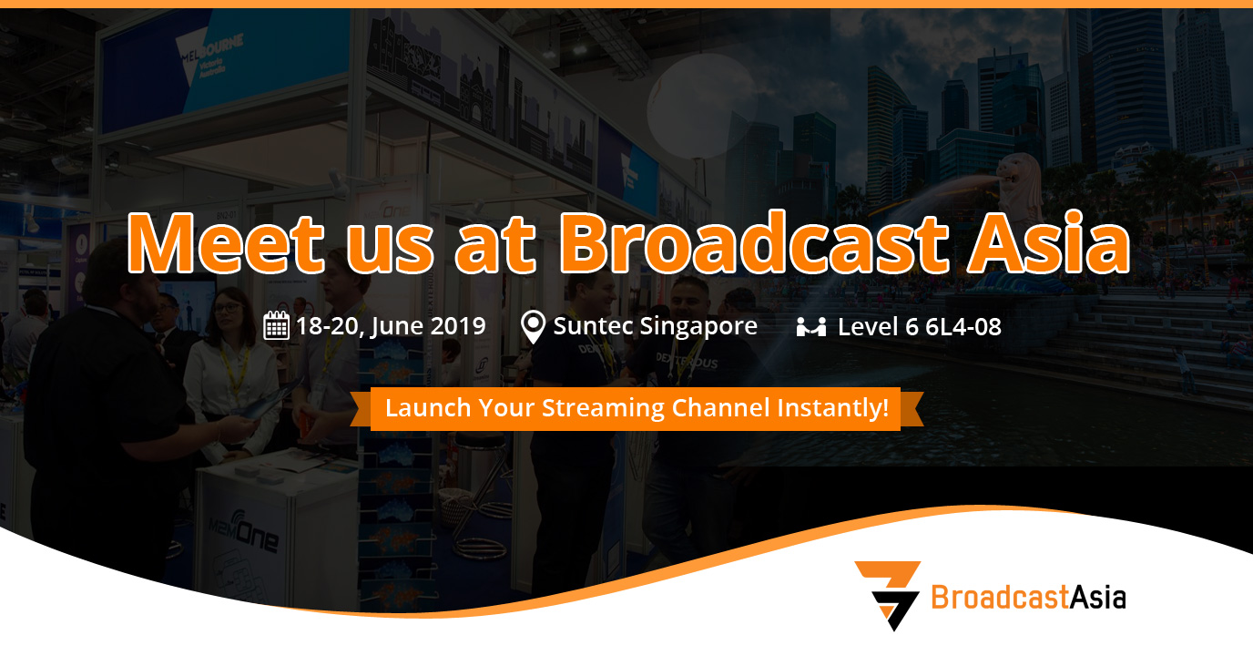 Muvi set to Showcase World's Most Customizable OTT Platform at Broadcast Asia Singapore 2019