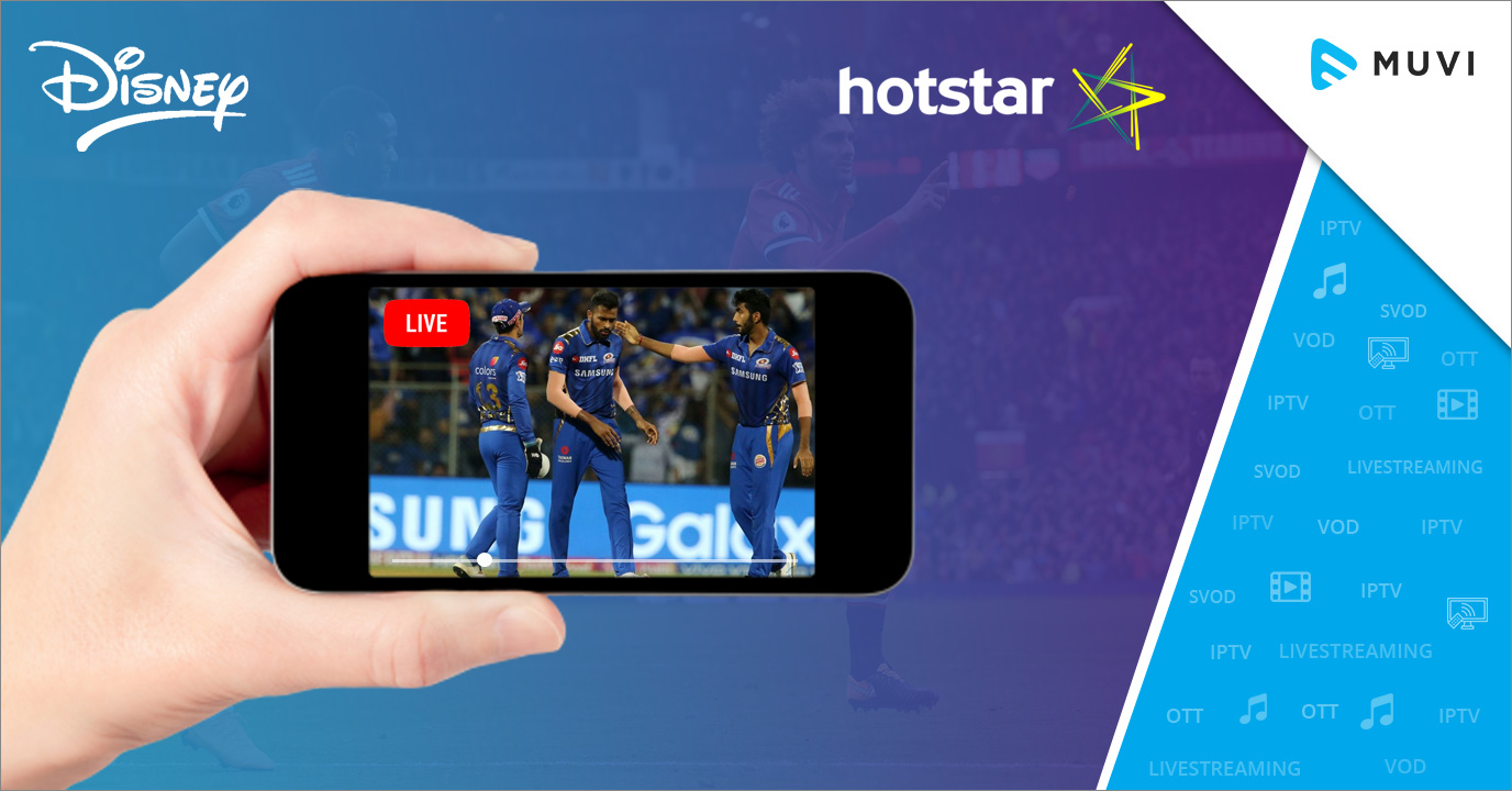 Disney's Hotstar sets New Global Record for Live Sports Streaming