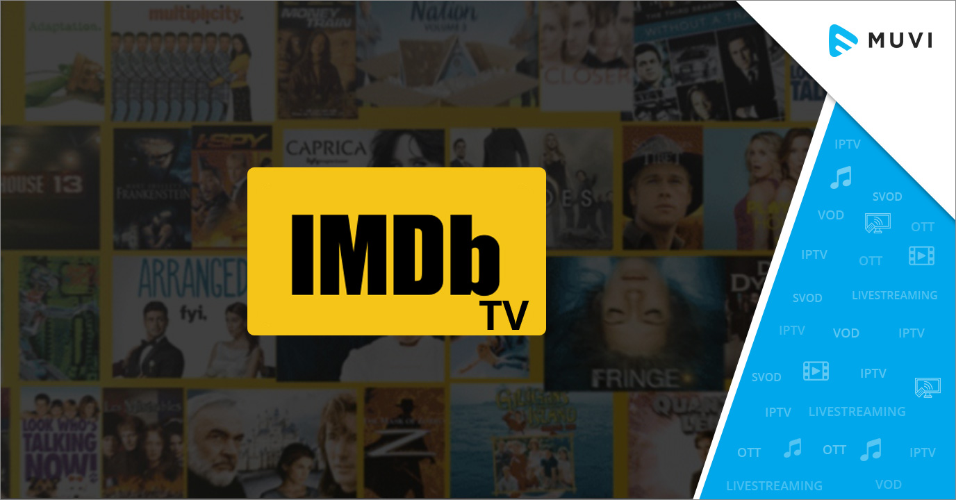 Amazon rebrands its free streaming service as IMDb TV