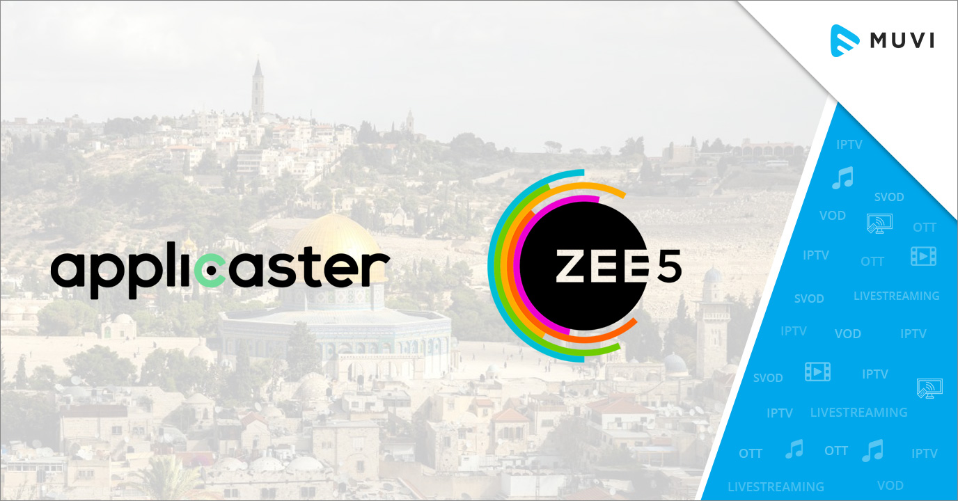Israel Startup Applicaster partners with Zee5