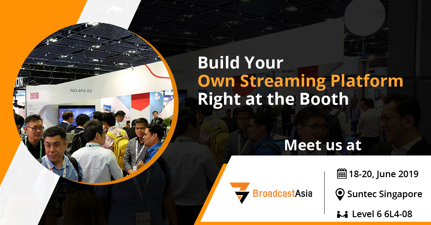 How to Launch an OTT Platform Instantly - Meet Muvi at BroadcastAsia Singapore