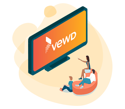 native streaming app for vewd tv platform