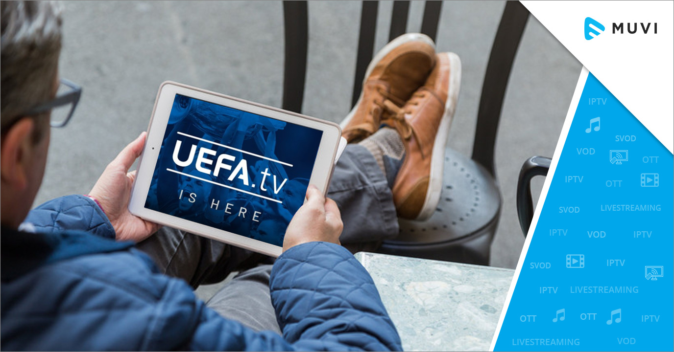 UEFA officially unveils live streaming platform