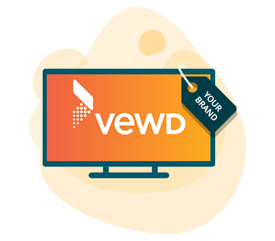 white-labeled vewd tv app