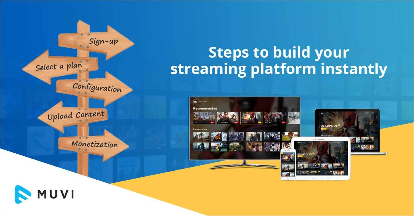 Launch your OTT Platform in 5 Simple Steps