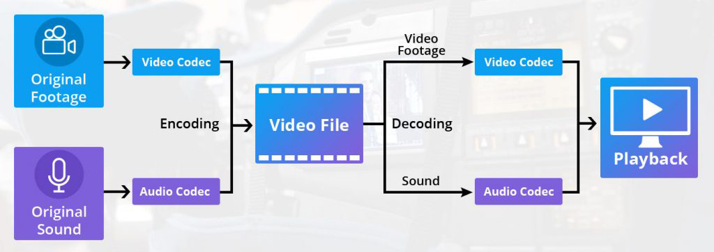 use of video codec in video streaming