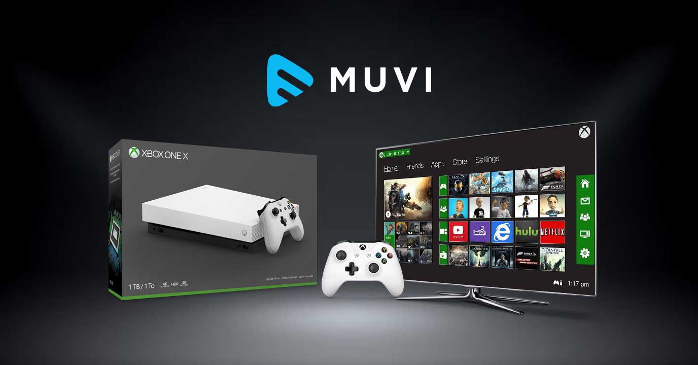 Muvi Launches XBOX Streaming App: Debuts in the Gaming Console Territory